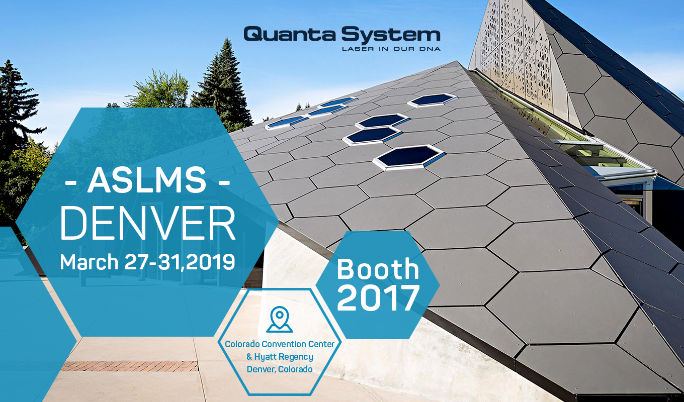 Aslms 2019 Quanta System Macchine Laser